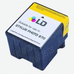 Tinteiro Compatível Epson Stylus Photo Cor 790/870/890