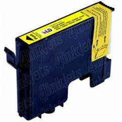 Tinteiro Compatível Epson Amarelo Stylus Photo R200/R300/RX 600