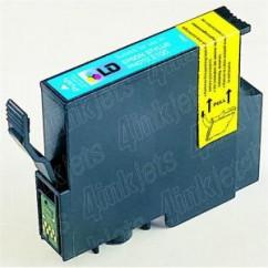 Tinteiro Compatível Epson Azul Stylus Photo R 200/R300/RX 600 photo
