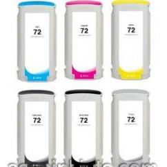 Tinteiro Compatível HP Dye PBK Designjet T1100,T1200,T1300,T2300,72