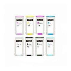Tinteiro Compatível Hp Azul Light Pigment Z2100,Z3100,Z3200,Z520070