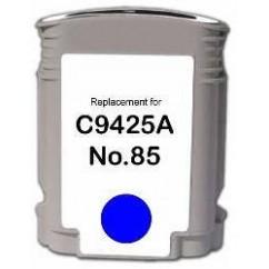 Tinteiro Compatível HP Azul Designjet 30,90,130,90R,130GP. N°85C