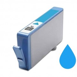 Tinteiro Compatível HP Azul 364xl  cb323e
