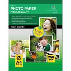 Matte Coated Inkjet Papel 108g/m2 A4 100 folhas