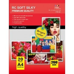 Papel Photo High Glossy Inkjet 297X210MM A4 180g-50 Folhas