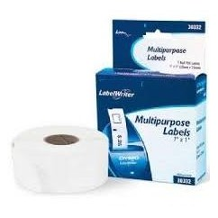 White 25mmX13mm 1000psc for DYMO Labelwriter 400-S0722530